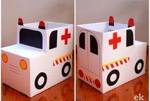 emergency vehicle birthday party