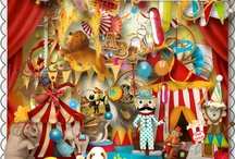 THE CIRCUS ~ FAIRS ~ CARNIVALES ARE COMING TO TOWN / by Sabrina Menefee
