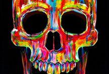 skullz / by Niktaha BlueEagle