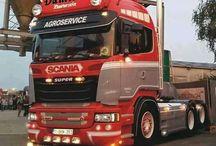 T SCANIA TRUCKS T (StreamLine) series / Trucks of the swedish brand SCANIA,Streamline series.