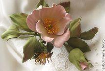 kwiaty- foamiran