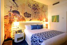 Hotel Indigo / Calcher suminisra mobiliario para el Hotel Indigo