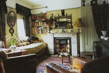 Vintage interior insp. / great old interiors / by Arlene Terrell