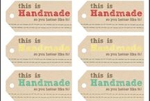 Crochet ~ Printable tags, etc.