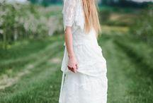 boho wedding /  Boho wedding dresses by FEMINI