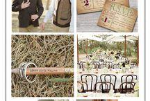 Vintage-Rustic Wedding