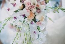 Wedding: Classic Cascade Blushing Bride / Wedding Flowers