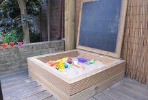 Spelen in de tuin - inspiratie / Kids in de tuin
