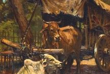 Indonesian Art (11) R. Hardi / Paintings by R. Hardi