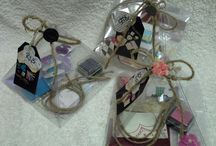 Gift tag kits. / Gift tag kit... Orders @ creative.organizingandcleaning@gmail.com or phone Rozanne 071 679 3376