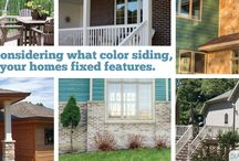 Color Tips | Diamond Kote / Choosing a color for the exterior of your home is a big decision. There are several elements to keep in mind when choosing siding colors. Use our color tips to help you through the process!