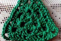 Christmas crochet/knitting