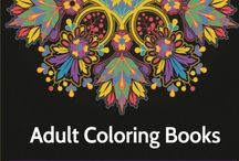 Coloring Books for Adults / My favorite coloring books for all ages.