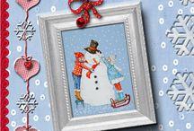 kerst / illustraties, liedjes, kleurplaten en knutseltips voor de kerst