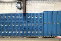 Anthem K-8 Adams 12 Five Star Schools/Broomfield, CO #Lockers #DeBough / #AngleIron #SlopeTop #ClosedBase #SentryTwoLatch #5KnuckleHinge #DiamondPerfortation #CadetBlue #LouveredVentilation #DeBourgh #Lockers