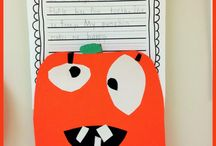 Fall/Halloween descriptive writing