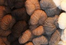 Alpaca Elegance Project Inspiration / Green Mountain Spinnery's Alpaca Elegance is wonderful in hand. This yarn showcases the drape and resilience of New England Alpaca, the elasticity of fine wool and the softness of both.   50% Fine Wool/50% Alpaca 2-ply DK Weight 2 oz skein - Approx 180 yds  / by Green Mountain Spinnery