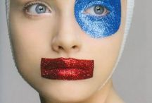 color block make-up