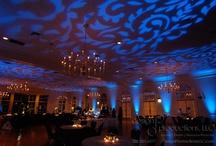 Fabulous Wedding Lighting and linens