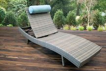 Lounge Chairs / Lounge the day away in our relaxing and comfortable wicker lounge chairs.