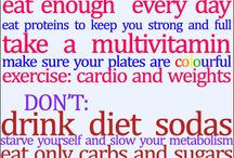 Motivation/healthy lifestyle pins / Ready for a lifestyle change! / by Racheljustin Holder