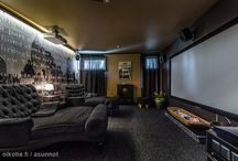 Kotiteatterihuoneet / TV-rooms