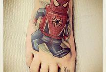 LEGO Inspired Tattoos
