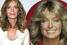 jACLYN sMITH, 69, Tears up when talking Faarrah Fawcett.