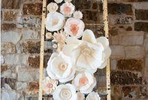 Flor de papel pano de fundo