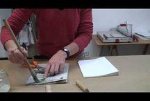 Encuadernaciòn y lagatoria tutoriales  / Book and Bookbinding Tutorials / by Erilustra & Gebmart Studio