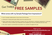 Samples / Check out our Samples Program
