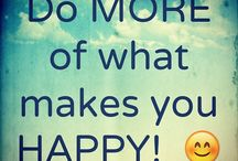 Happiness / The art of being happy lies within us all...
