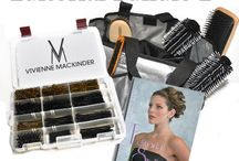 Hairstyling tools / #Brushes, #hairpins, #razors