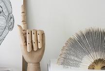Wooden hand