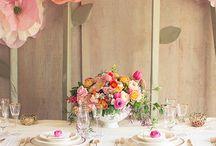 Esküvő - Asztal