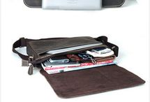 Mens messenger bags / Compact mens leather messenger bags