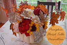 Fall Autumn Halloween & Thanksgiving Ideas