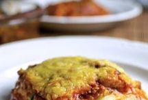 lasagna met courgette of aubergine
