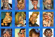CARICATURES / by Sandra Hozey