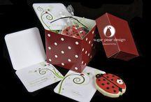 birthday party invitation — Sugar Pear Design / birthday party invitations