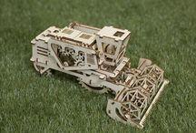 Ugears / Unieke werkende houten modellen