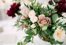 Dark & Dreamy Florals / Moody and romantic floral inspiration for interesting and edgy couples.