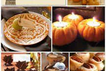 Thanksgiving: menu, decor, etc.