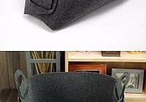 Ящик из фетра или драпа
