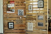 pallets and shutters
