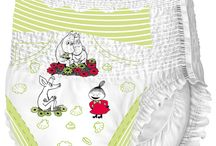 Moomin diapers