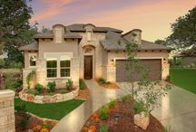 The Madrid / Imagine Homes model home in Amorosa in Cibolo Canyons