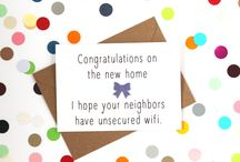 Congratulations on your new home (card)