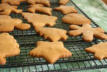 Gingerbread cookies / Softer bake result
