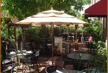 The Outdoor Patio  / Dine on Allegria's Outdoor Patio. Private Dining and Banquet Option